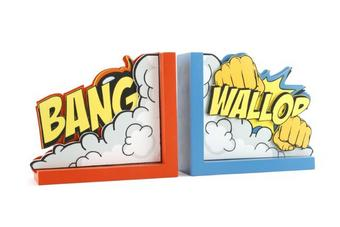 Bang Wallop Book Ends