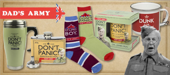 A Selection of Dad's Army  Gifts